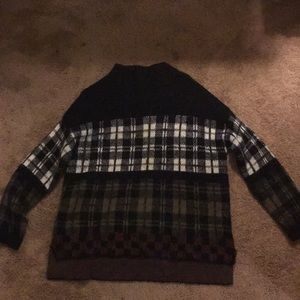 Plaid sweater from Urban Outfitters